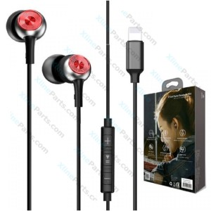 Phone Headset Baseus P02 Lightning Call Digital 3.5mm Jack black gray (Original)