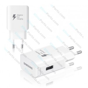 Travel Charger Fast Samsung EP-TA300 USB Adapter 2 Pin white (Original) bulk