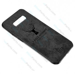 Silicone Case Deer Samsung Galaxy S10 G973 black