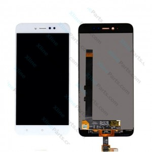 LCD with Touch Xiaomi Redmi Y1 (Note 5A) white OCG