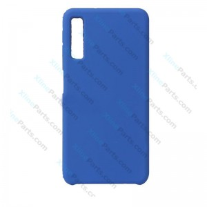 Silicone Case Liquid Samsung Galaxy A7 (2018) A750 dark blue