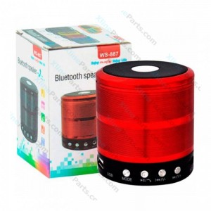 Bluetooth Speaker WS-887 red