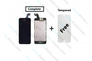 LCD with Touch Apple iPhone 5C black Complete