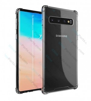 Silicone Case 360 Degree Samsung Galaxy S10 Plus G975 Double Sided clear