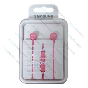 Phone Headset Samsung Galaxy HS1303 In-Ear Volume Control  pink (Original)