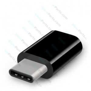 USB 2.0 Adapter Female to Type C black