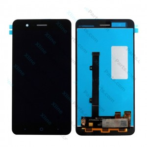LCD with Touch ZTE A510 black OCG