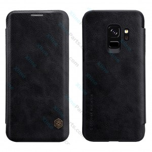 Flip Case Leather Samsung Galaxy S9 G960 black