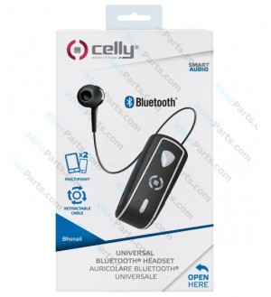 Bluetooth Headset Celly BHSNAILBK black AAA