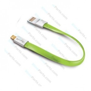 Data Cable Micro USB Celly 22cm green (Original)