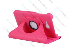 "Tablet Case 360 Degree Rotate Samsung Galaxy Tab3 Lite 7.0"" T110 pink"