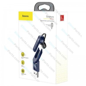 Bluetooth Headset Baseus Magnetic NGCX blue (Original)