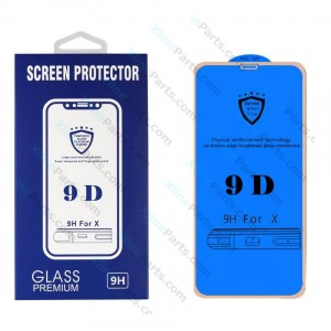 Tempered Glass Screen Protector 9D Samsung Galaxy A7 (2018) A750 gold