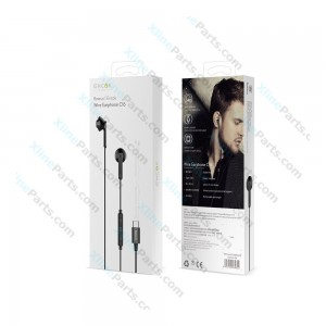 Phone Headset Baseus C16 Type-C 3.5mm Jack black (Original)