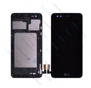 LCD with Touch and Frame LG K4 (2017) M160 black OCG