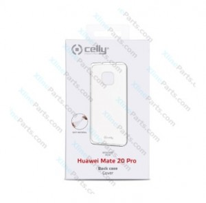 Silicone Case Celly Huawei Mate 20 Pro transparent (Original)