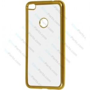 Silicone Case Electro Huawei P8 P9 Lite (2017) gold