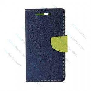 Flip Case Fancy LG K9 (K8 2018) dark blue