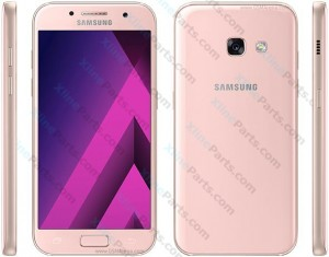 Dummy Mobile Phone Samsung Galaxy A3 (2017) A320 pink