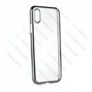 Silicone Case Electro iPhone X/XS gray