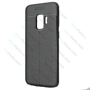 Silicone Case Rugged Carbon Samsung Galaxy S9 G960 black