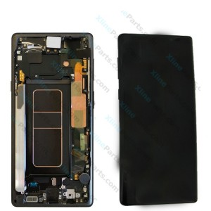 LCD with Touch and Frame Samsung Galaxy Note 9 N960 black (Original)