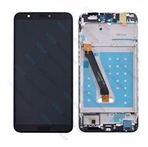 LCD with Touch and Frame Huawei P Smart black OCG