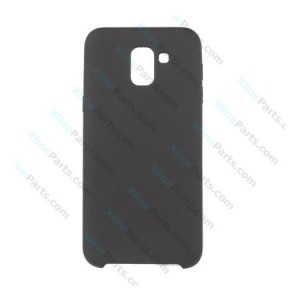 Silicone Case Liquid Samsung Galaxy J6 (2018) J600 black
