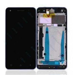 LCD with Touch and Frame Lenovo Vibe S1 Lite blue OCG