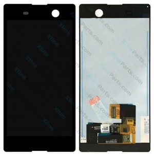 LCD with Touch Sony Xperia M5 black OCG