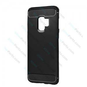Silicone Case Carbon Samsung Galaxy S9 Plus G965 black
