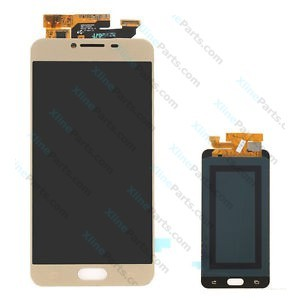 LCD with Touch Samsung Galaxy C5 gold OCG