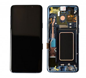 LCD with Touch and Frame Samsung Galaxy S9 Plus G965F blue (Original)
