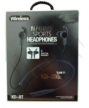 Bluetooth Headset KD-350 black AAA
