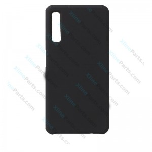 Silicone Case Liquid Samsung Galaxy A7 (2018) A750 black