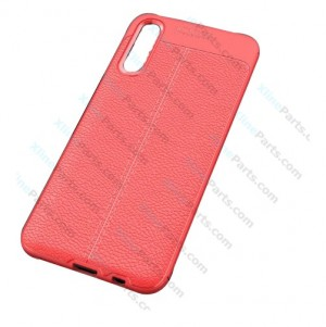 Silicone Case Auto Focus Samsung Galaxy A70 A705 red OEM