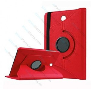 Case 360 Degree Rotate Samsung Galaxy Tab S3 9.7 T820 T825 red