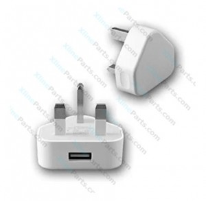 Travel Charger USB Adapter Apple iPhone A1399 3 Pin white (Original) bulk