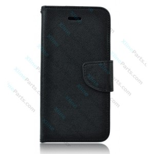 Flip Case Fancy Samsung Galaxy A6 (2018) A600 black