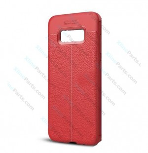 Silicone Case Auto Focus Samsung Galaxy S8 G950 red OEM