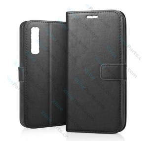 Flip Case Fancy Samsung Galaxy A7 (2018) A750 black