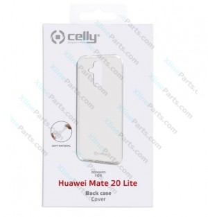 Silicone Case Celly Huawei Mate 20 Lite transparent