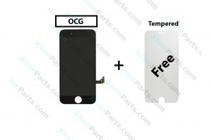 LCD with Touch Apple iPhone 8 black OCG