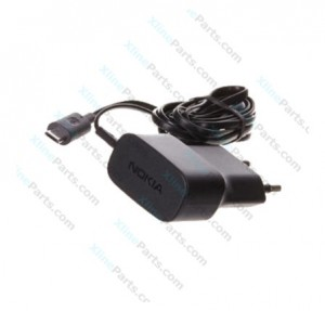 Travel Charger Nokia AC-20E MicroUsb black 2 Pin (Original) bulk
