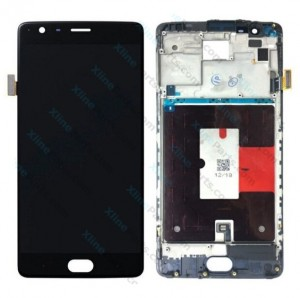 LCD with Touch and Frame OnePlus 3 black HQ