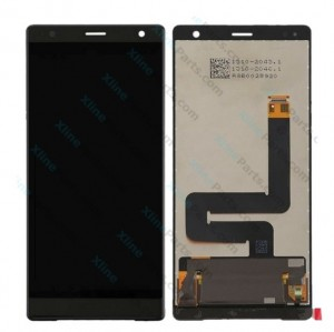 LCD with Touch Sony Xperia XZ2 black OCG