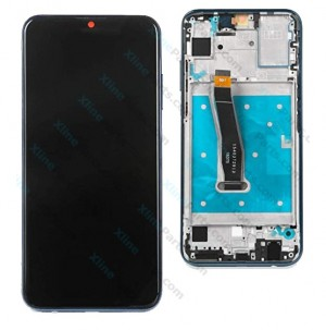 LCD with Touch and Frame Huawei P Smart (2019) black OCG