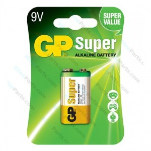 Battery Super Alkaline GP 9V (6LF22)