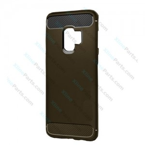 Silicone Rugged Case Carbon Samsung Galaxy S9 G960 gray