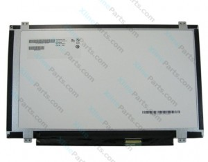 "Laptop Screen HB140WX1 14.0"" Slim LED 40 Pin connector from right side"